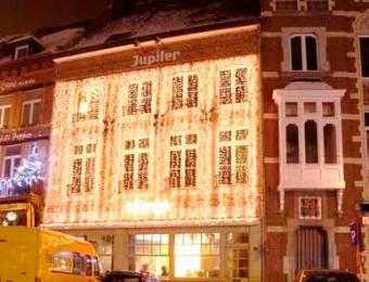 alquiler iluminacion fachadas navidad