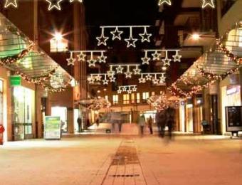 calles adornadas navidad
